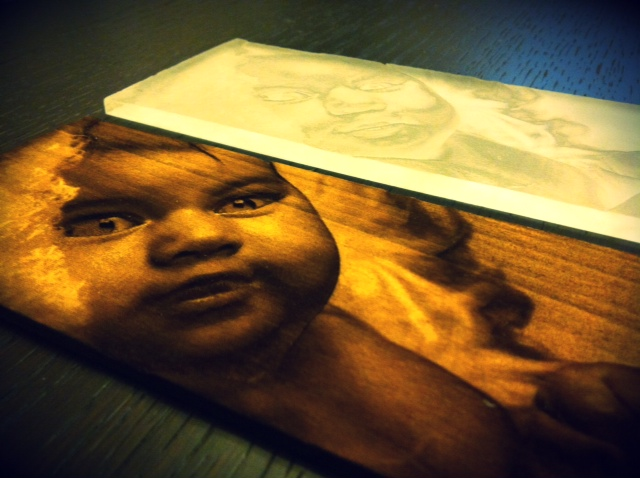 Laser Engraved Portrait 003