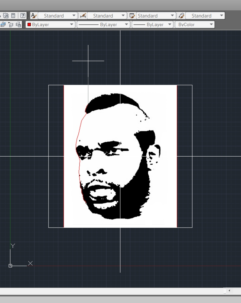 Mr T wood engraving tutorial 003
