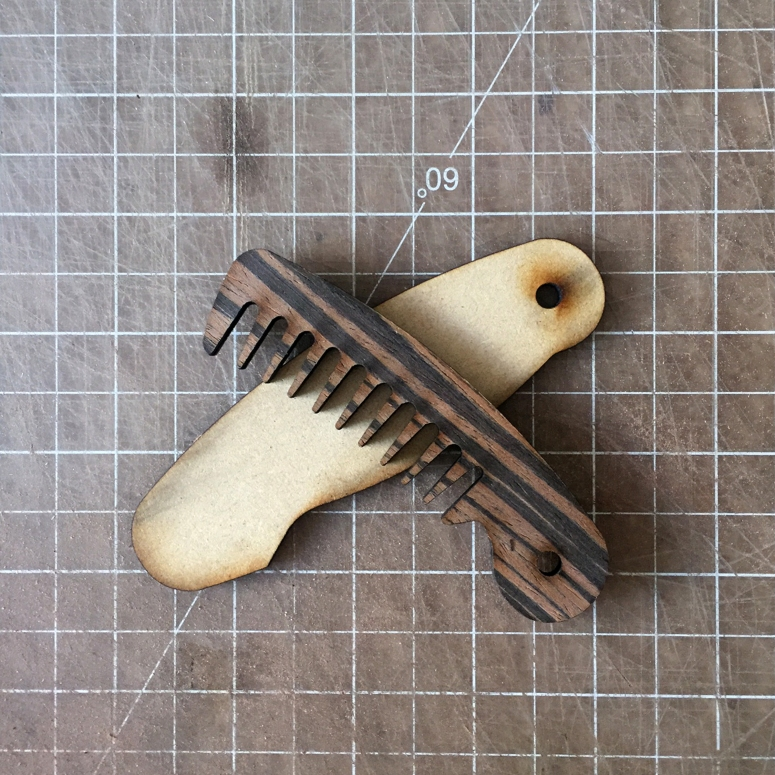 step 10 designing a diy laser cut comb tutorial by thenanogramstore