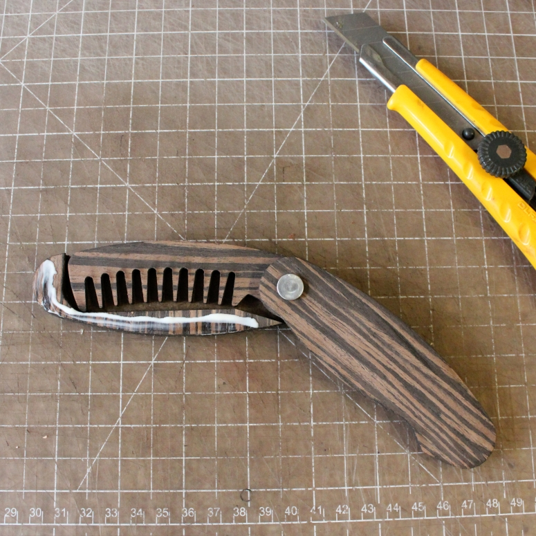 step 12 design a folding comb tutorial by thenanogramstore