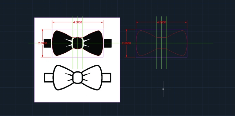 006 how i made a lasercut laser cut engraved etched bow tie